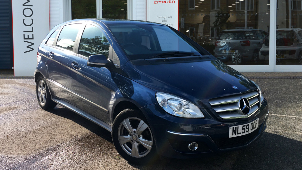 Used Mercedes-benz B CLASS Hatchback 1.5 B160 BlueEFFICIENCY SE 5dr