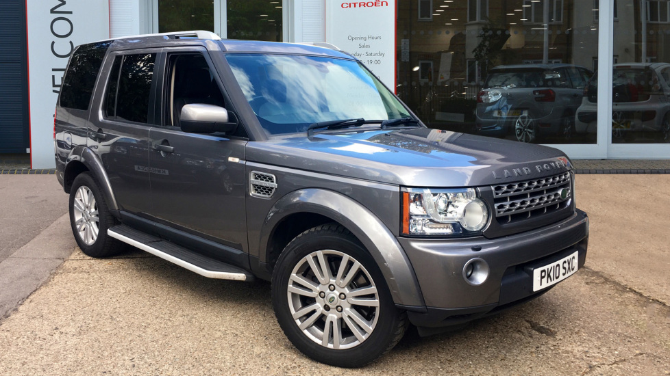 Used Land Rover DISCOVERY 4 SUV 3.0 TD V6 HSE 4X4 5dr