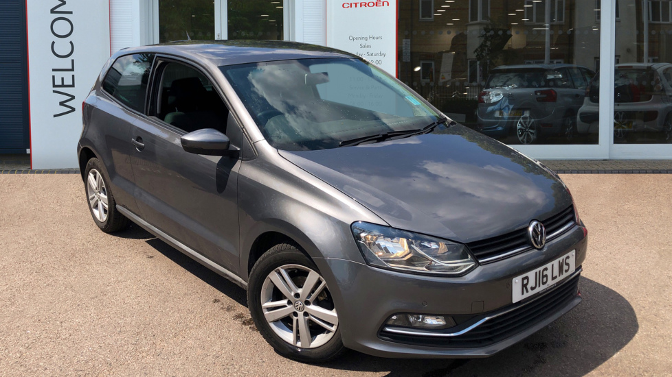 Used Volkswagen POLO Hatchback 1.0 TSI BlueMotion Tech Match (s/s) 3dr