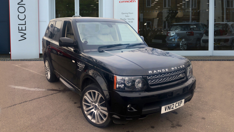 Used Land Rover RANGE ROVER SPORT SUV 3.0 SD V6 HSE (Luxury Pack) 4X4 5dr