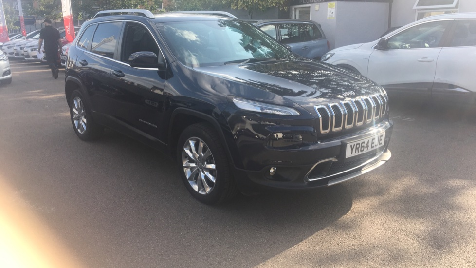 Used Jeep Cherokee SUV 2.0 CRD Limited Auto 4WD (s/s) 5dr
