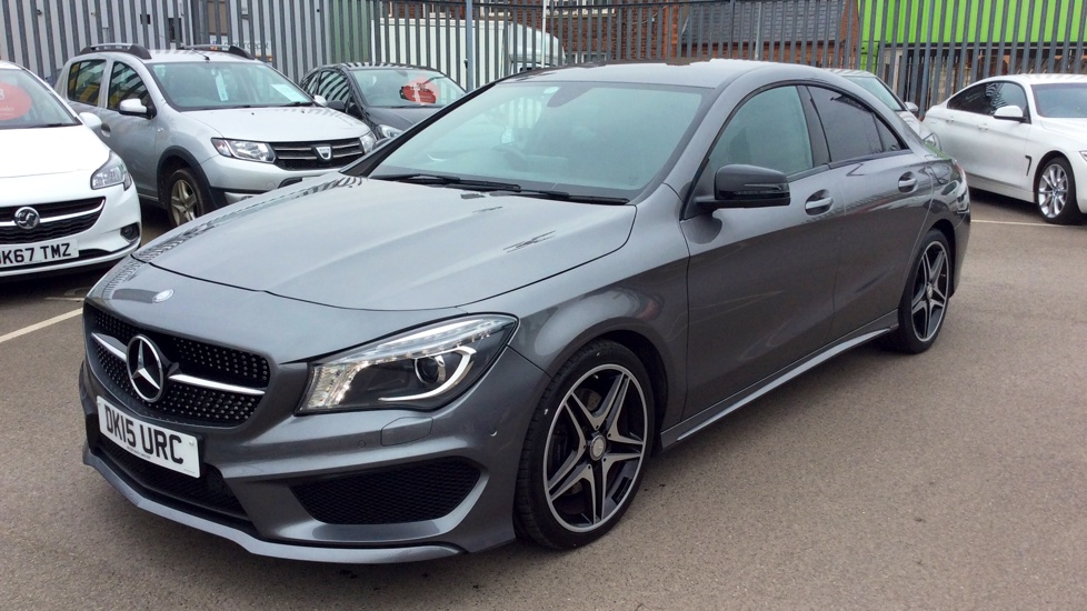 MERCEDES-BENZ CLA CLASS CLA 220 CDI AMG Sport Tip Auto [Night Pack