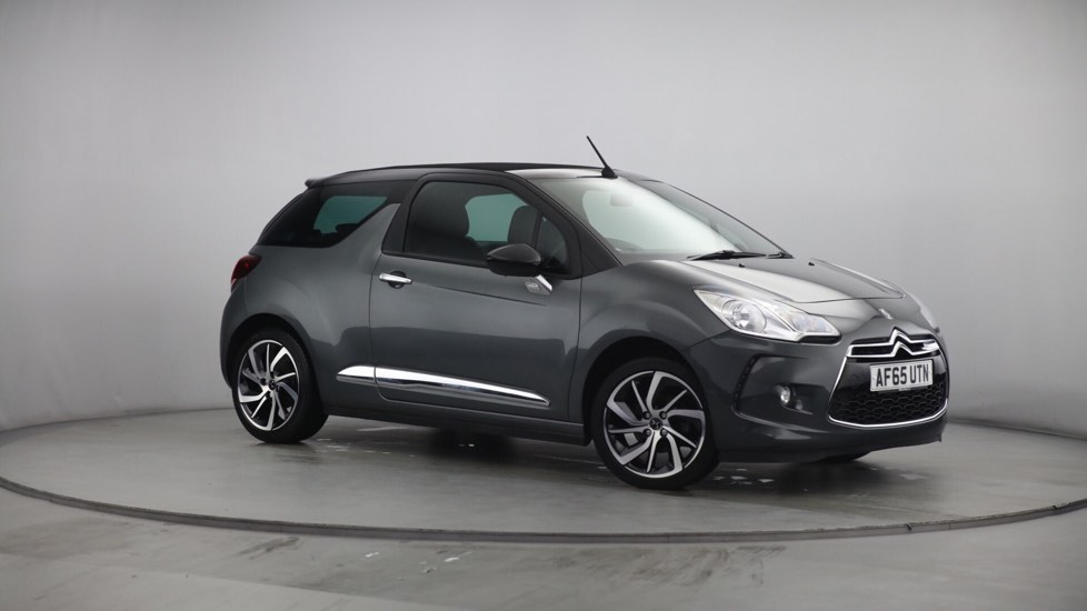 Used DS 3 CABRIO Convertible 1.6 BlueHDi DStyle Nav Cabriolet 2dr (start/stop)
