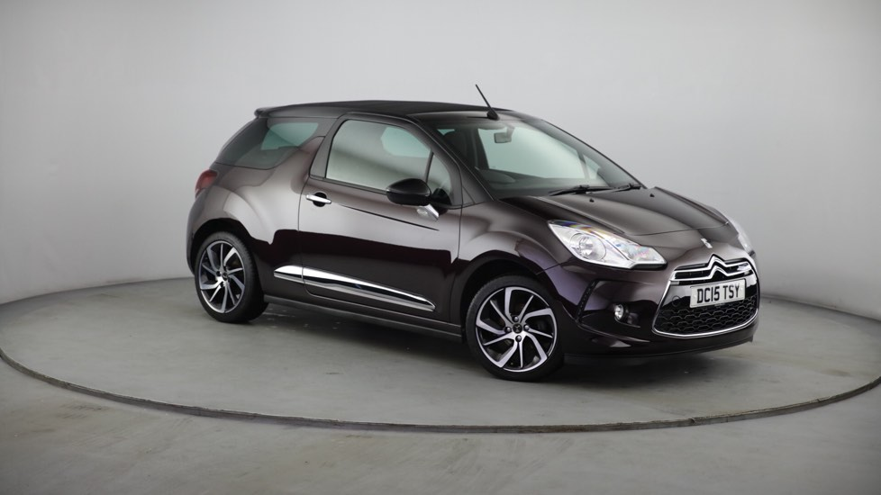 Used DS 3 CABRIO Convertible 1.2 PureTech DStyle Nav Cabriolet 2dr (start/stop)