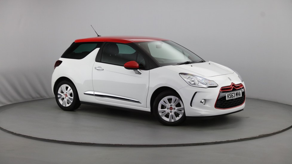 Used Citroen DS3 Hatchback 1.6 VTi DStyle Red 3dr