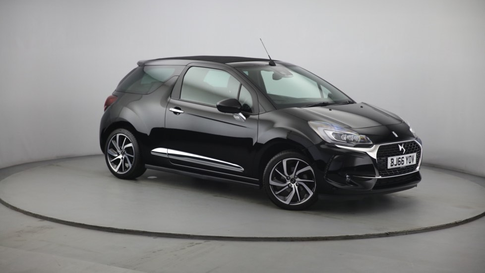 Used DS 3 CABRIO Convertible 1.6 BlueHDi Prestige Cabriolet 2dr (start/stop)