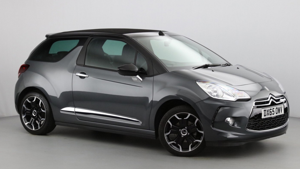 Used DS 3 CABRIO Convertible 1.6 BlueHDi DStyle Cabriolet 2dr (start/stop)