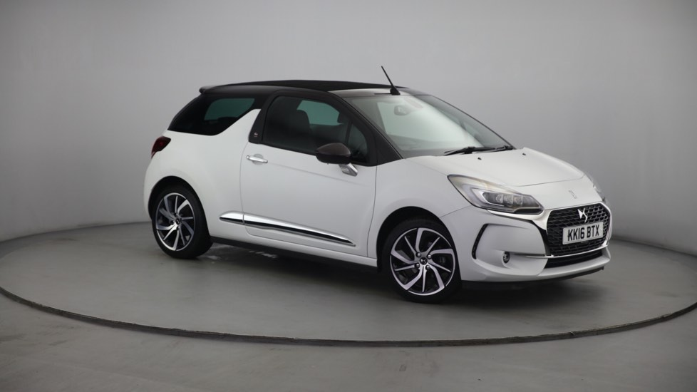 Used DS 3 CABRIO Convertible 1.2 PureTech Givenchy Le Makeup Cabriolet 2dr (start/stop)