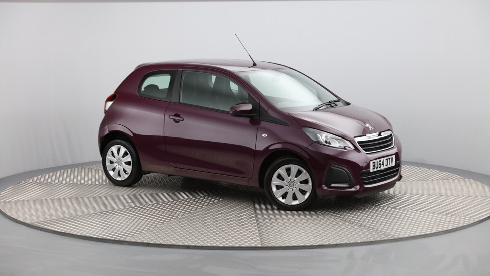 Used Peugeot 108 Hatchback 1.0 Active 3dr
