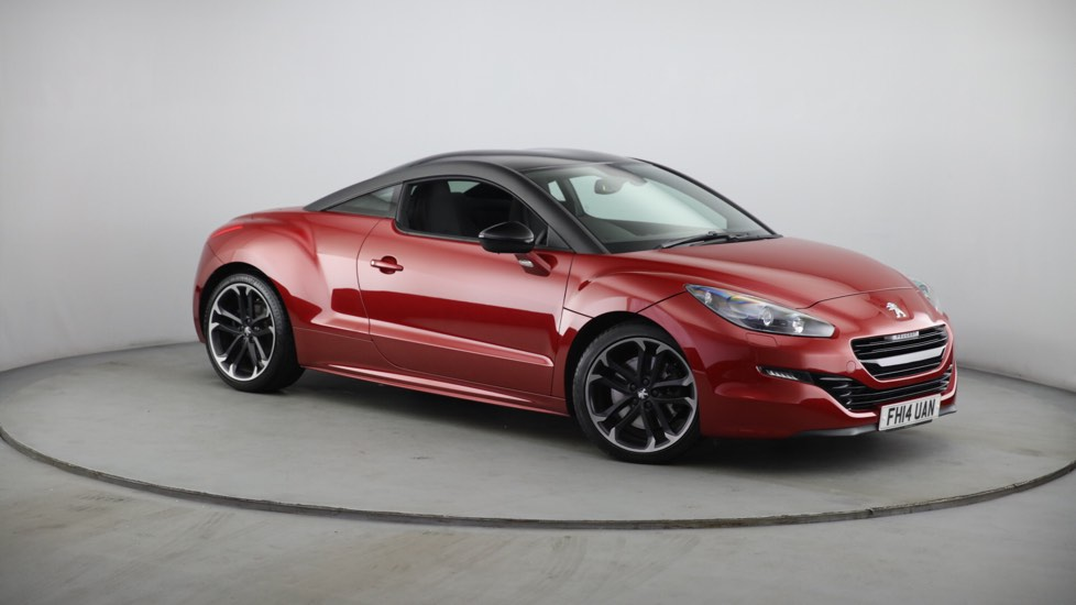 Used Peugeot RCZ Coupe 2.0 HDi Red Carbon 2dr