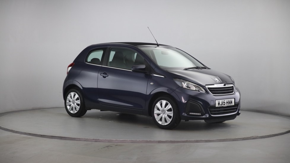 Used Peugeot 108 Convertible 1.0 Active TOP! 3dr