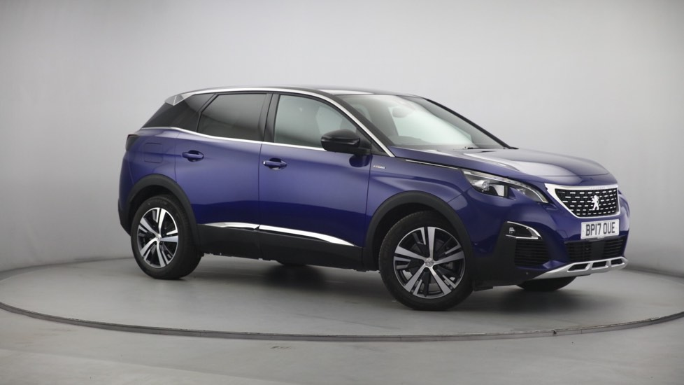 Used Peugeot 3008 SUV SUV 1.2 PureTech GT Line 5dr (start/stop)
