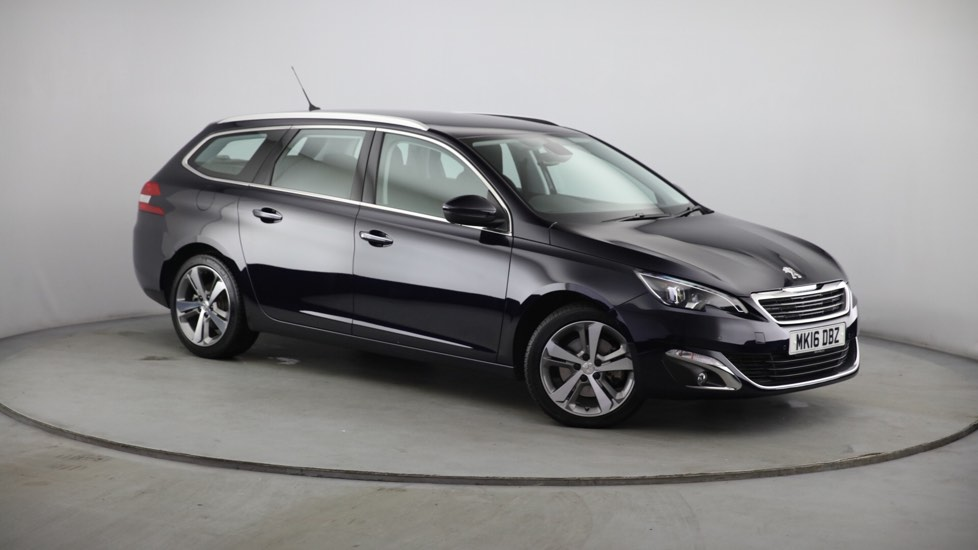 Used Peugeot 308 SW Estate 2.0 BlueHDi Allure EAT6 5dr (start/stop)