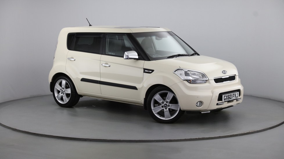 Used Kia SOUL Hatchback 1.6 CRDi Shaker 5dr