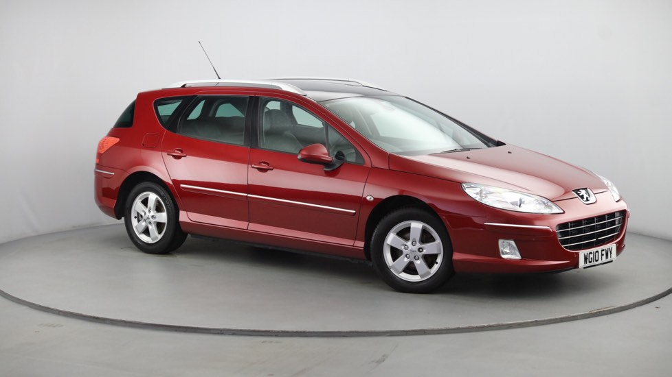 Used Peugeot 407 SW Estate 2.0 HDi FAP Sport 5dr