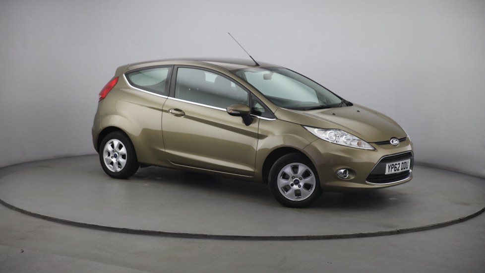 Used Ford FIESTA Hatchback 1.6 TDCi ECOnetic DPF Zetec 3dr