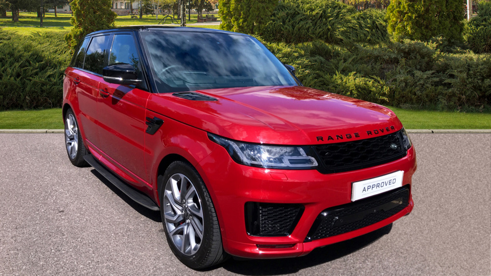 Land Rover Range Rover Sport 2.0 P400e Autobiography Dynamic 5dr - Sliding Panoramic Roof - Privacy Glass - Hybrid -  Petrol/Electric Automatic Estate (2018) image