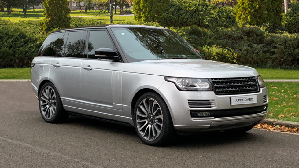 Land Rover Range Rover 3.0 TDV6 Autobiography 4dr - Sliding Panoramic Roof - Privacy Glass -  Diesel Automatic 5 door Estate (2015) available from Land Rover Swindon thumbnail image
