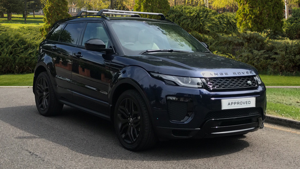 Land Rover Range Rover Evoque 2.0 TD4 HSE Dynamic 5dr - Fixed Panoramic Roof - Privacy Glass - Black Pack Diesel Automatic Hatchback (2018)