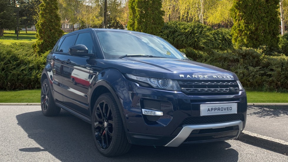 Land Rover Range Rover Evoque 2.2 SD4 Dynamic 5dr [9] + Fixed Panoramic Roof - Privacy Glass -  Diesel Automatic Hatchback (2015)