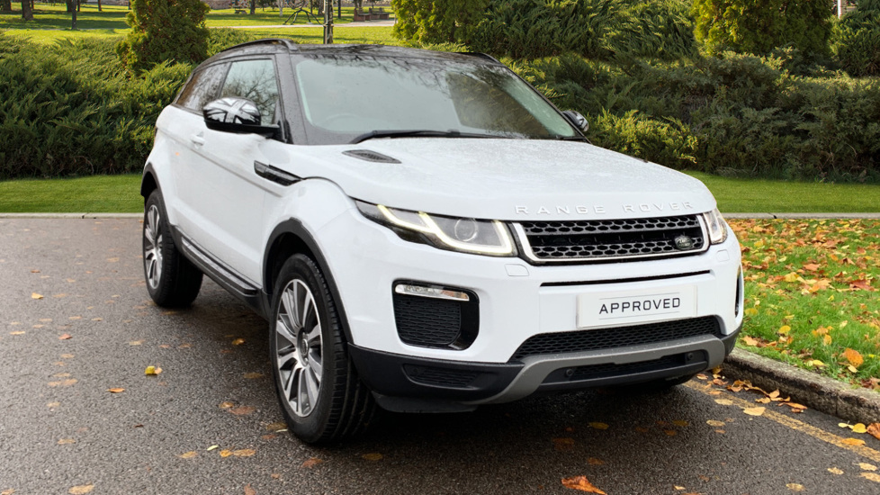 Land Rover Range Rover Evoque 2.0 TD4 SE Tech 3dr - Privacy Glass - Black Contrast Roof -  Diesel Automatic Coupe (2016) image