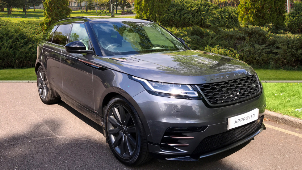 Land Rover Range Rover Velar 2.0 D240 R-Dynamic HSE 5dr - Privacy Glass - Sliding Panoramic Roof  + 5 Years Service Plan Diesel Automatic Estate (2017) at Land Rover Woodford thumbnail image