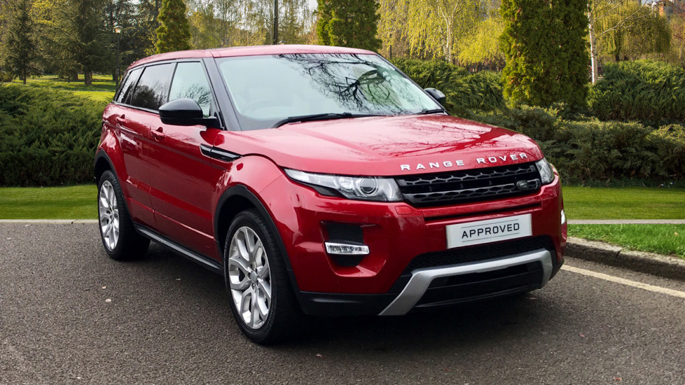 Land Rover Range Rover Evoque 2.2 SD4 Dynamic 5dr [9] - Privacy Glass - Fixed Panoramic Roof -  Diesel Automatic Hatchback (2015)