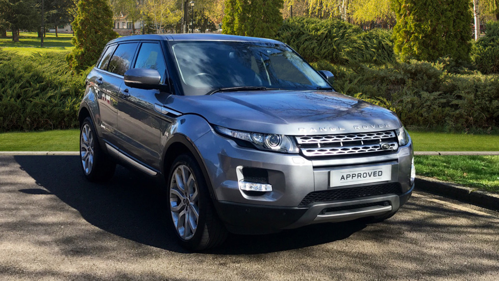 Land Rover Range Rover Evoque 2.2 SD4 Prestige 5dr [Lux Pack] - Privacy Glass - Fixed Panoramic Roof -  Diesel Automatic Hatchback (2013) image
