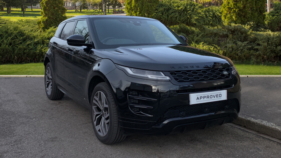 Land Rover Range Rover Evoque 2.0 P200 R-Dynamic HSE 5dr - Sliding Panoramic Roof - Privacy Glass - Low Mileage Car Automatic Hatchback (2020) at Land Rover Woodford thumbnail image