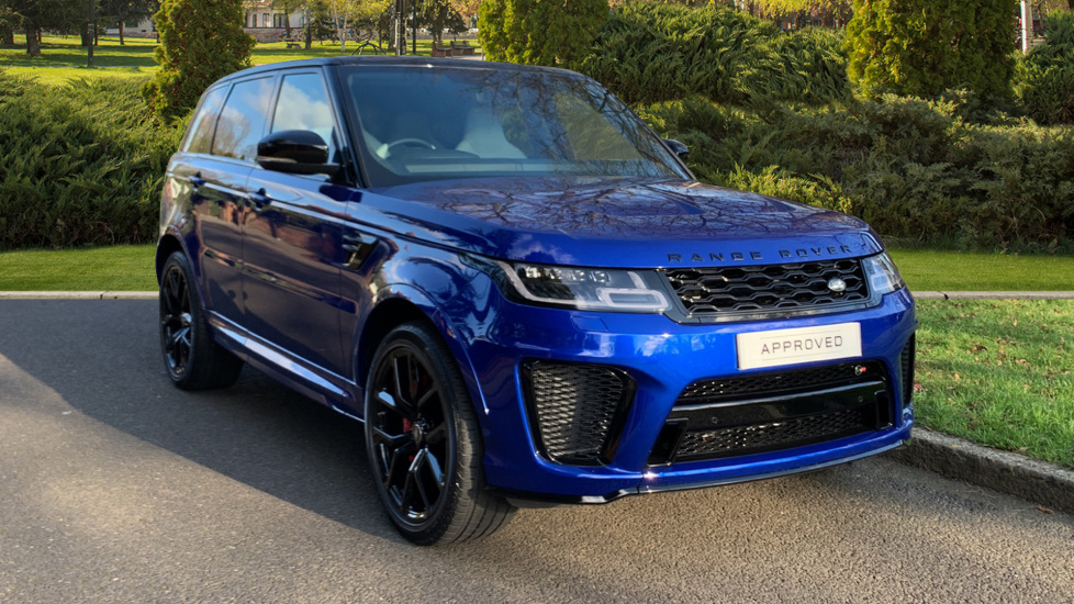 Land Rover Range Rover Sport 5.0 V8 S/C 575 SVR - Sliding Panoramic Roof - Privacy Glass - Head Up Display -  Automatic 5 door 4x4 (18 MY)