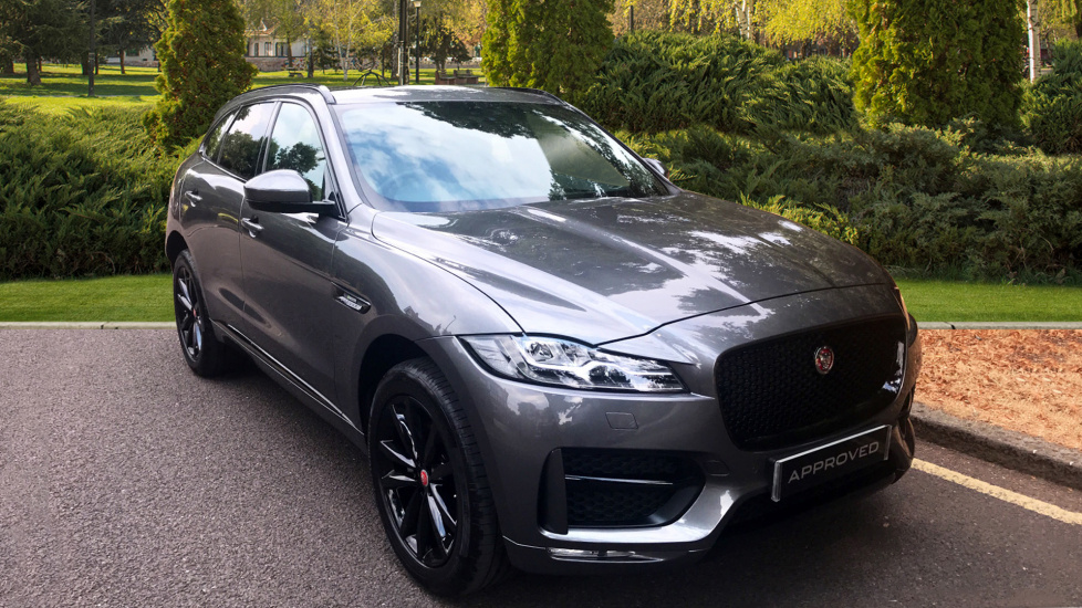 Jaguar F PACE 2.0d R Sport 5dr AWD   Fixed Panoramic Roof