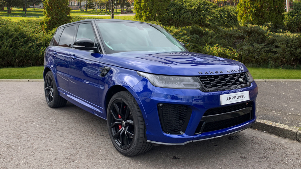 Land Rover Range Rover Sport 5.0 V8 S/C 575 SVR 5dr Automatic 4 door Estate (19)