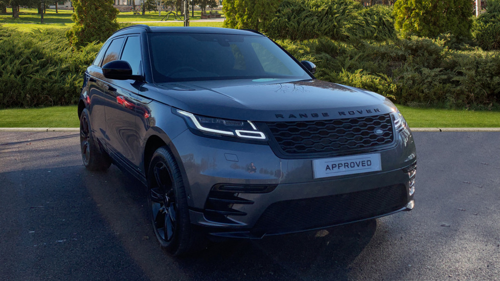 Land Rover Range Rover Velar 2.0 P300 R-Dynamic SE 5dr - Fixed Panoramic Roof - Privacy Glass -  Automatic Estate (2019) at Land Rover Woodford thumbnail image