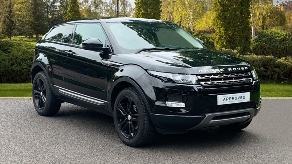 Land Rover Range Rover Evoque 2.2 SD4 Pure 3dr [9] [Tech Pack] - Privacy Glass -  Diesel Automatic 2 door Coupe (2014) image