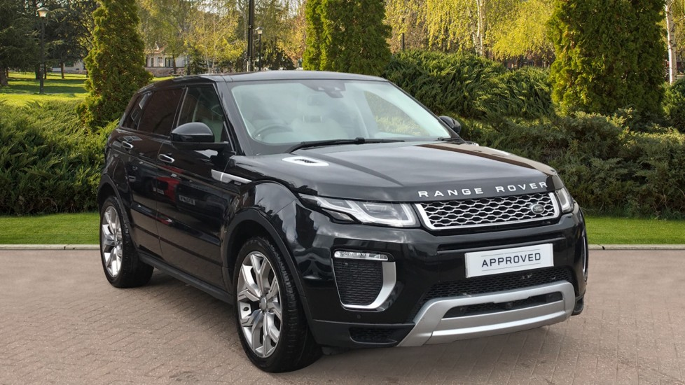 Land Rover Range Rover Evoque 2.0 TD4 Autobiography 5dr Pan Roof, Privacy Glass Diesel Automatic 4 door Hatchback