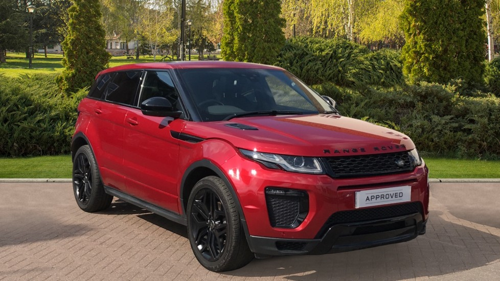 Land Rover Range Rover Evoque 2.0 TD4 HSE Dynamic BLACK PACK, PANORAMIC ROOF Diesel Automatic 5 door Hatchback