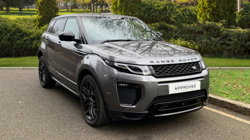 Land Rover Range Rover Evoque 2.0 SD4 HSE Dynamic 5dr - Fixed Panoramic Roof - Privacy Glass -  Diesel Automatic Hatchback (2018) at Land Rover Woodford thumbnail image
