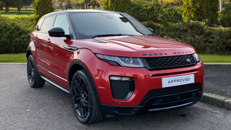 Land Rover Range Rover Evoque HSE Dynamic Luxury 2.0 Petrol/Electric Automatic 5 door 4x4 (2017)