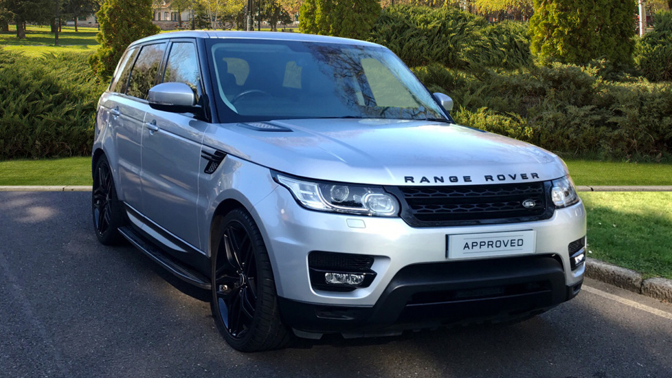 Land Rover Range Rover Sport 3.0 SDV6 HSE 5dr - Privacy Glass - Fixed Side Steps - Black Pack -  Diesel Automatic Estate (2013) image