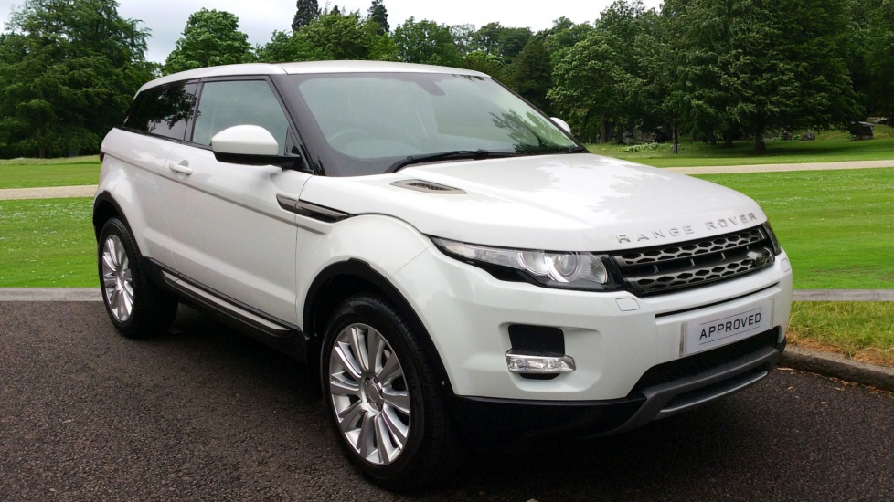 Land Rover Range Rover Evoque 2.2 SD4 Pure 3dr Auto Tech Pack - Privacy Glass - Fixed Panoramic Roof -  Diesel Automatic Coupe (2014) image