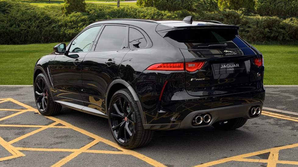 Jaguar F-PACE 5.0 Supercharged V8 SVR AWD - Fixed Panoramic Roof - Privacy Glass - Save £ 2,350 Off Normal Price - image 2