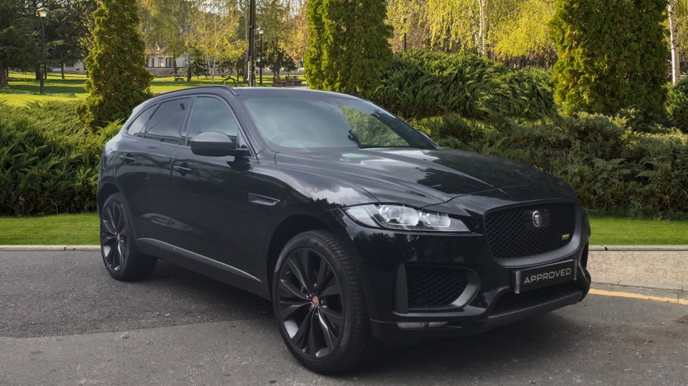Jaguar F-PACE 3.0d V6 300 Sport 5dr AWD - Sliding Panoramic Roof - Privacy Glass - Demonstrator Diesel Automatic Estate (2019)