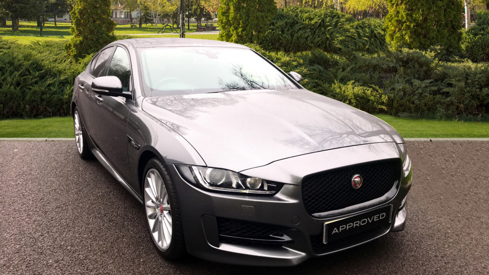 Jaguar XE 2.0d [180] R-Sport 4dr - Privacy Glass Diesel Automatic Saloon (2017)