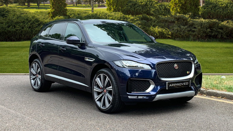 Jaguar F-PACE 3.0d V6 S 5dr AWD - Sliding Panoramic Roof - Privacy Glass  Diesel Automatic Estate (2019)