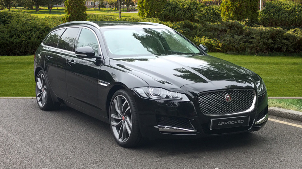 Jaguar XF 2.0i Portfolio 5dr - Fixed Panoramic Roof - Privacy Glass Automatic Estate (2019)