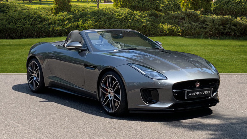 Jaguar F-TYPE 3.0 [380] Supercharged V6 R-Dynamic 2dr Automatic 5 door Convertible (2019)