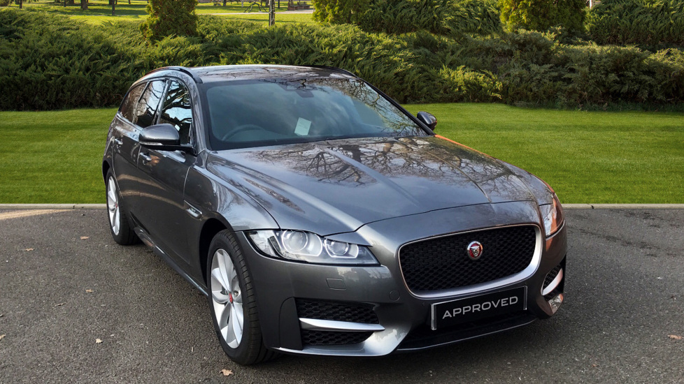 Jaguar XF 2.0i R-Sport 5dr - Fixed Panoramic Roof - Privacy Glass -  Automatic Estate (2018) at Jaguar Woodford thumbnail image