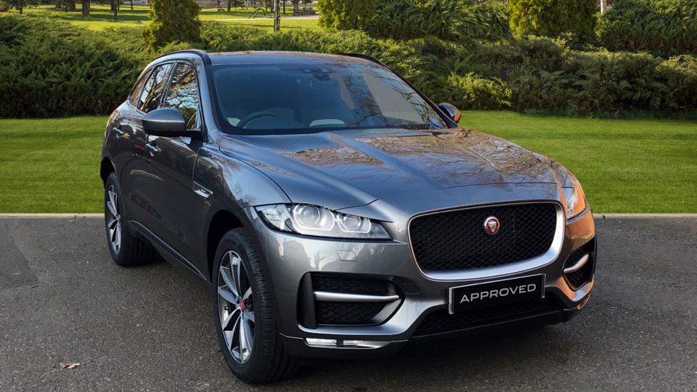 Jaguar F-PACE 2.0d R-Sport 5dr AWD - Fixed Panoramic Roof - Privacy Glass -  Diesel Automatic Estate (2018) at Jaguar Woodford thumbnail image