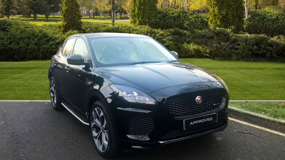 Jaguar E-PACE 2.0d [180] R-Dynamic S 5dr - Privacy Glass - Fixed Side Steps -  Diesel Automatic Estate (2018)