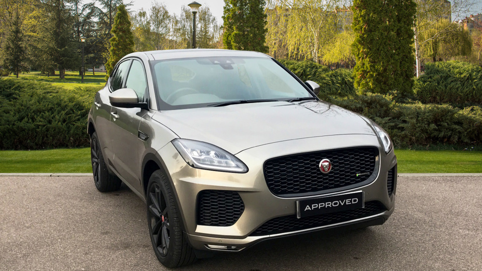 Jaguar E-PACE 2.0d [180] R-Dynamic 5dr - Fixed Panoramic Roof - Black Wheels -  Diesel Automatic Estate (2018) at Jaguar Woodford thumbnail image